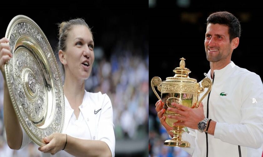 Tζόκοβιτς με σμόκιν και Χάλεπ με τουαλέτα στο δείπνο του Wimbledon (pics)