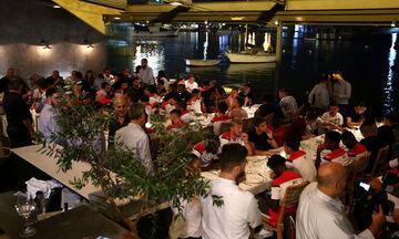 Οικογενειακό δείπνο για Ολυμπιακό και Νότιγχαμ (vid)