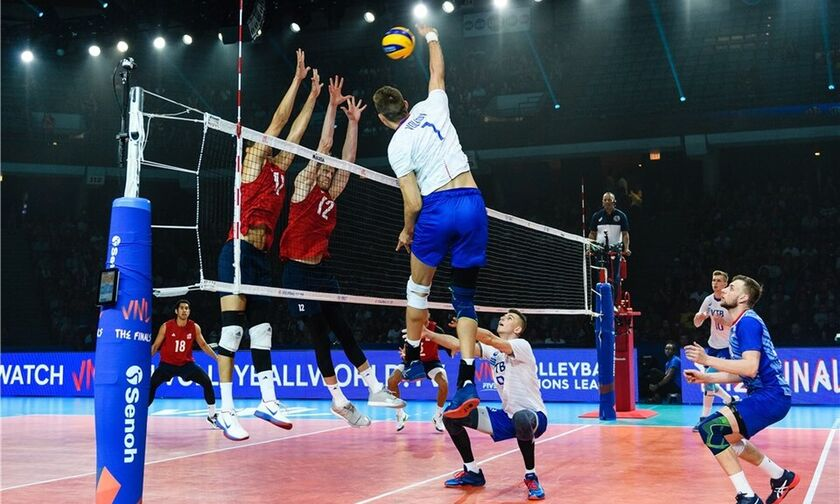 Volleyball Nations League: Σαν στο σπίτι της η Ρωσία, 3-1 τις ΗΠΑ και χρυσό μετάλλιο
