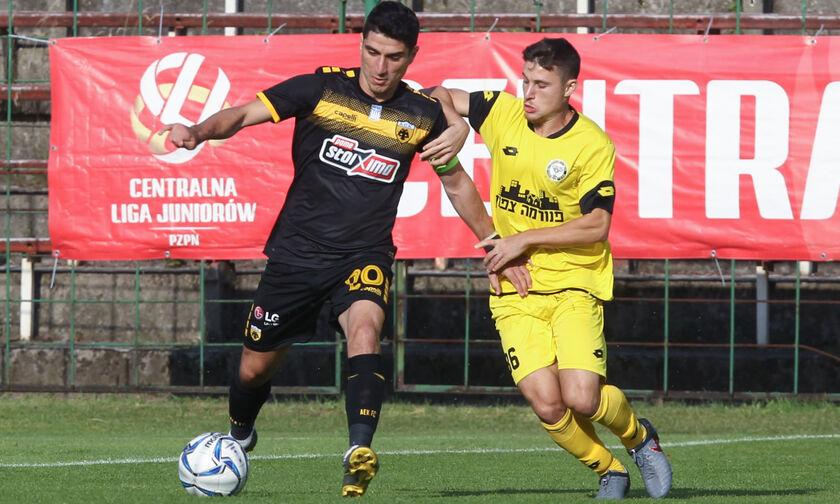 Πρώτη ισοπαλία για την ΑΕΚ, 1-1 με τη Μακάμπι Νετάνια