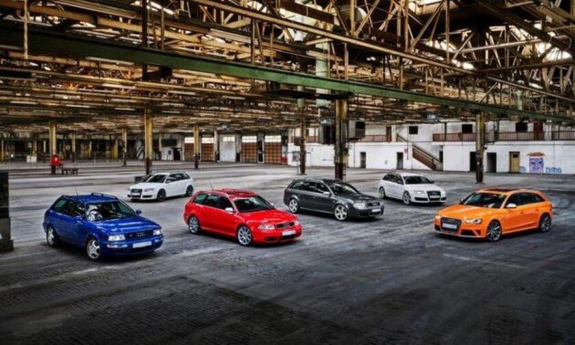 Επέτειος 25 χρόνων για τα Audi RS