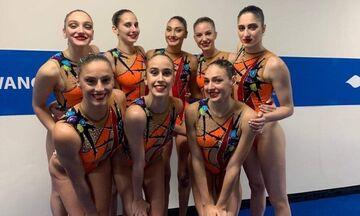 Παγκόσμιο Πρωτάθλημα Υγρού Στίβου: Όγδοο το ομαδικό, στον τελικό το ντουέτο