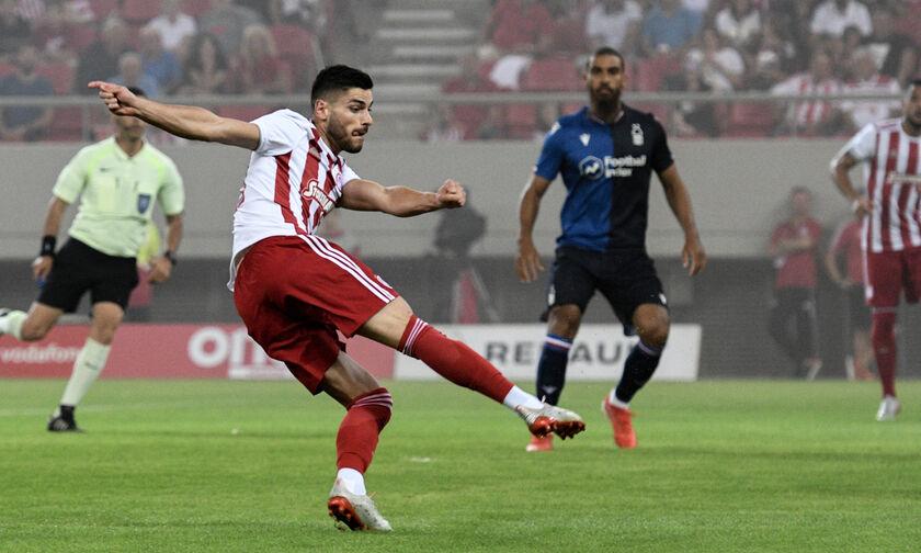 Το γκολ του Μασούρα για το 1-0 του Ολυμπιακού επί της Νότιγχαμ (vid)