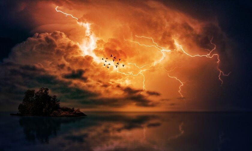 Καιρός: Καταιγίδες κατά τόπους ισχυρές - Πρόγνωση και για αύριο Πέμπτη