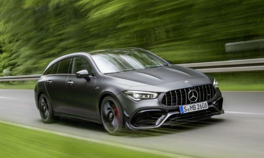 Πρακτικά γκάζια με την νέα Mercedes-AMG CLA 45 Shooting Brake (vid)