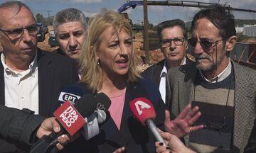 Ρένα Δούρου: Ελεύθερη μετά την απολογία της για τις φονικές πλημμύρες στη Μάνδρα