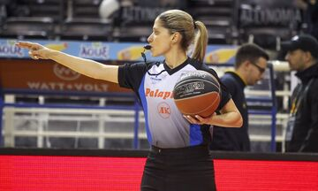 H Bάσω Τσαρούχα θα σφυρίζει στη EuroLeague τη νέα σεζόν!
