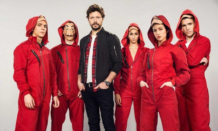 La Casa De Papel: Το promo του Netflix στην Πάτρα! (vid)