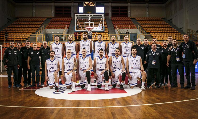 EuroBasket 2021: Η Ελλάδα στο 2ο γκρουπ δυναμικότητας