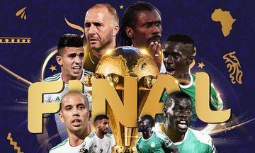 Τελικός Copa Africa 2019: Η Σενεγάλη του Μανέ εναντίον της Αλγερίας του Μαχρέζ (vid)