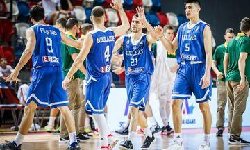 Εθνική Νέων: Συγκρούεται με την Σλοβενία για την 9η θέση