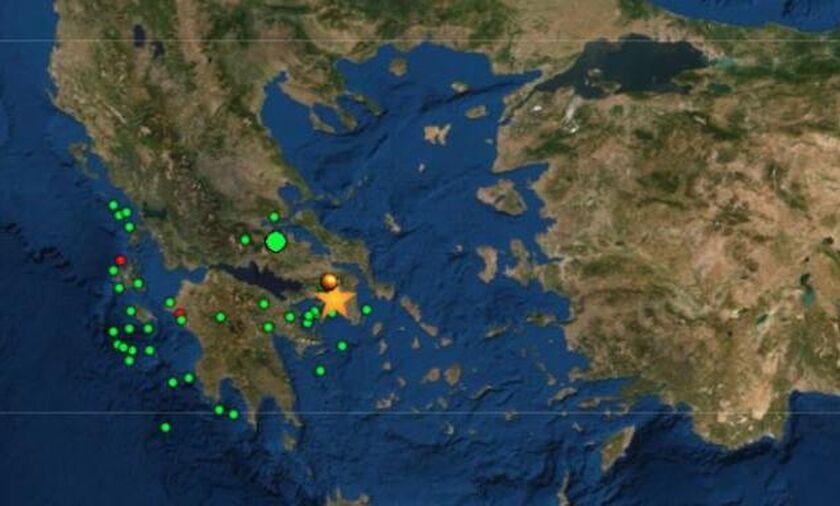 Σεισμός στην Αθήνα: Στους 49 οι μετασεισμοί μετά τα 5,1 Ρίχτερ