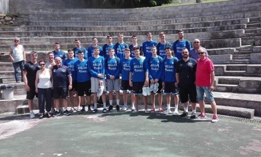 Αναχώρησε για το Μπακού η Εθνική Παίδων
