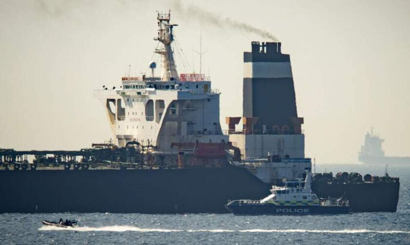Βίντεο από την κατάσχεση του βρετανικού δεξαμενόπλοιου