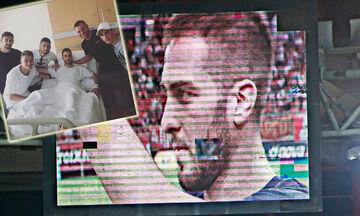 Ολυμπιακός: Δίπλα στον Φορτούνη οι συμπαίκτες του (pic)