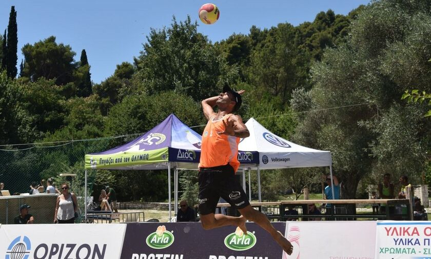 Live Streaming: Ο τελικός του OLYMPIA MASTERS στο beach volley