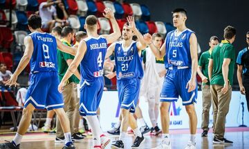 H εθνική Νέων νίκησε την Ουκρανία 109-98 στην παράταση και κατέλαβε τη 9η θέση στο Ευρωπαϊκό