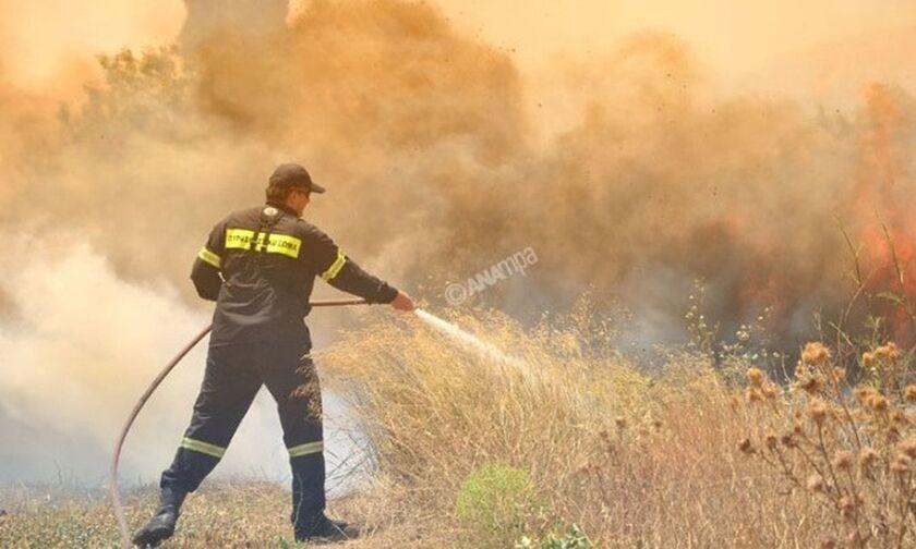 Πολύ υψηλός κίνδυνος πυρκαγιάς σήμερα στις Περιφέρειες Αττικής και Στερεάς Ελλάδος