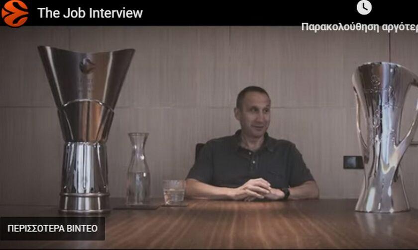 Ο Ντέιβιντ Μπλατ στο διαφημιστικό σποτ της EuroLeague- Το «Sparta» του Σφαιρόπουλου (vid)