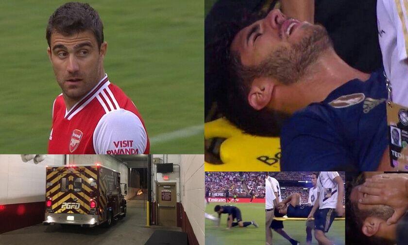 Ρεάλ - Αρσεναλ 2-2 (3-2 πέν.) με έξαλλο Σωκράτη και τραυματισμό - σοκ για Ασένσιο (vids)