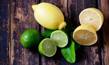 8 λόγοι για να καταναλώνουμε λεμόνι και lime