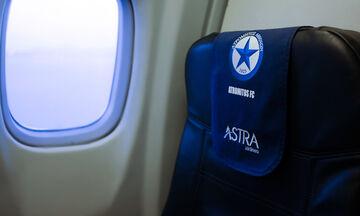 Ατρόμητος: «Πέταξε» για Σλοβακία η αποστολή (pics)