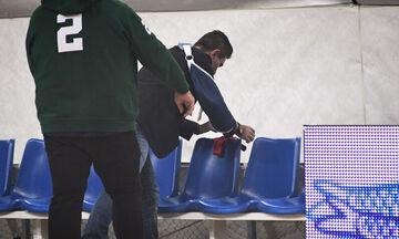 Ο Γιαννακόπουλος θα πληρώσει πρόστιμο 3.000 ευρώ για το στρινγκ στον πάγκο του Ολυμπιακού