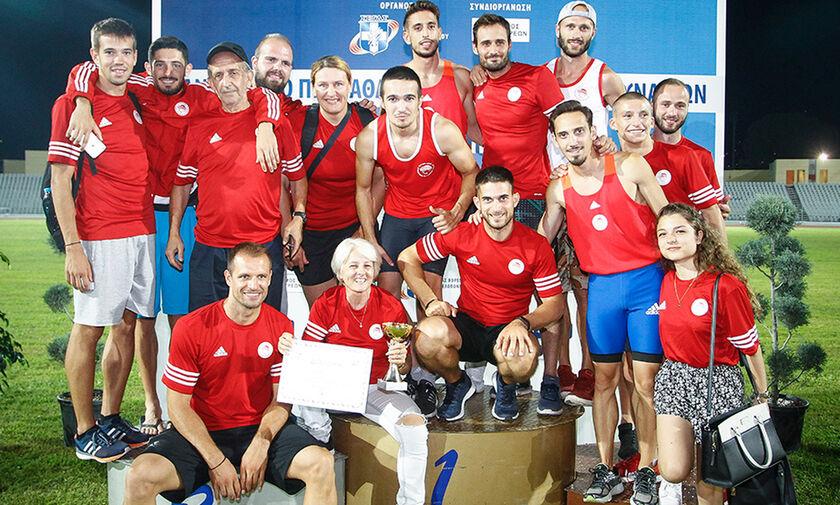 Η αποστολή του Ολυμπιακού για το Πανελλήνιο Πρωτάθλημα Στίβου