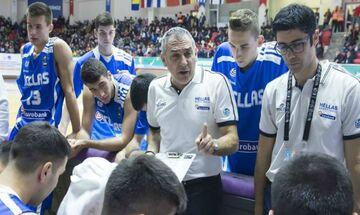 Βλασσόπουλος: «Οι μικρές Εθνικές πρέπει να γίνουν προθάλαμος για την Εθνική Ανδρών» (vid)