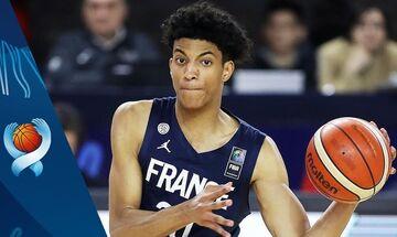 Eurobasket U18: Νίκη της Γαλλίας επί της Σλοβενίας στον όμιλο της Εθνικής μας