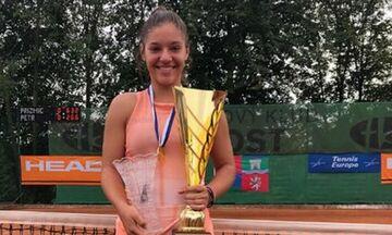 Τένις: Πρώτη στην Ευρώπη η Μικαέλα Λάκη