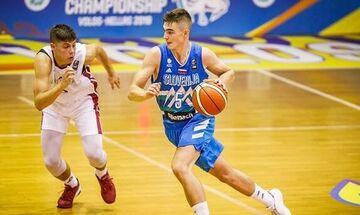 Eurobasket U18: Πρώτη νίκη για τη Σλοβενία στον όμιλο της Εθνικής μας
