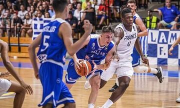 Eurobasket U18:Τα highlights της Εθνικής στην ήττα από την Γαλλία (vid)