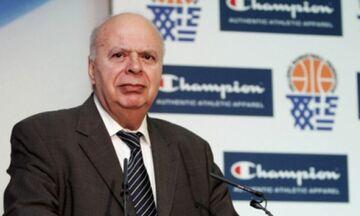 Βασιλακόπουλος: «Το ελληνικό μπάσκετ πάει πολύ καλά, γιατί κάποιοι γκρινιάζουν;»