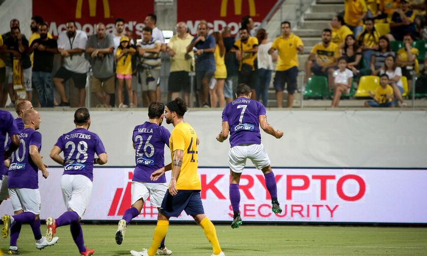 ΑΕΛ Λεμεσού - Άρης: Το πέναλτι του Ντιγκινί για το 0-1 (vid)