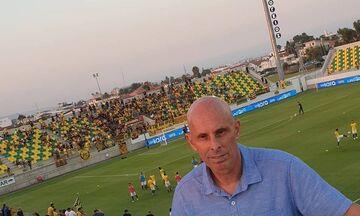 O νέος τεχνικός διευθυντής της Εθνικής ομάδας είδε Άρη (pic)