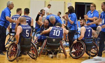 Εθνική Μπάσκετ με Αμαξίδιο: Άνοδος και χρυσό μετάλλιο στη Σόφια