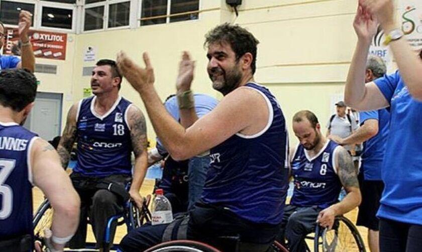 Αυγενάκης για Εθνική μπάσκετ με αμαξίδιο: «Δεν υπάρχουν ανυπέρβλητα εμπόδια» (pic)