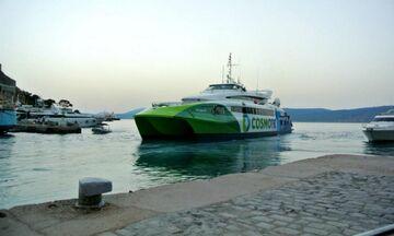 Ύδρα: Σύγκρουση του «Flying Cat 3» με θαλάσσιο ταξί