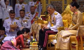 Ο βασιλιάς της Ταϊλάνδης παρουσίασε την ερωμένη του μπροστά στη σύζυγό του (vid)