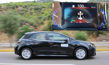 0-100 χλμ./ώρα με νέο Toyota Corolla Hybrid (+video)