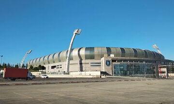 VIDEO: O Ολυμπιακός στο «Fatih Terim Stadium»