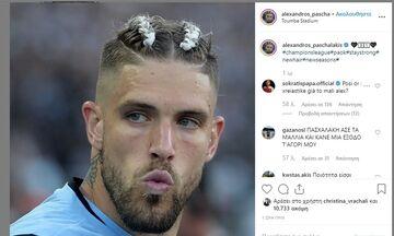 Ανάρτηση Πασχαλάκη για το μαλλί του και αντίδραση Παπασταθόπουλου! (pic)