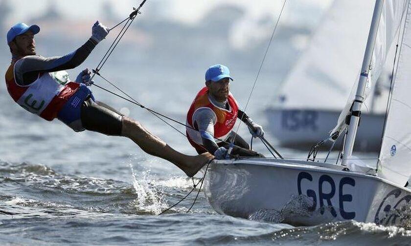 Ιστιοπλοΐα: Μια ανάσα από την πρόκριση στους Ολυμπιακούς Αγώνες οι Π.Μαντής – Π.Καγιάλης