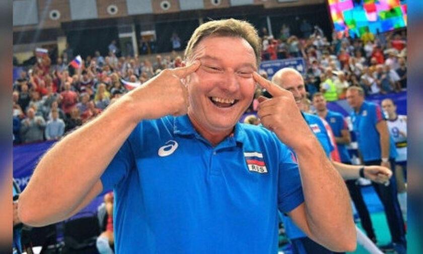 Τους έκανε... σχιστά μάτια και οι Νοτιοκορεάτες καταγέλλουν τον προπονητή της Ρωσίας