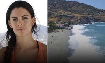 Στο σημείο όπου βρέθηκε παραμένει η σορός της Νάταλι Κρίστοφερ - Στην Ικαρία ο ιατροδικαστής (pics)