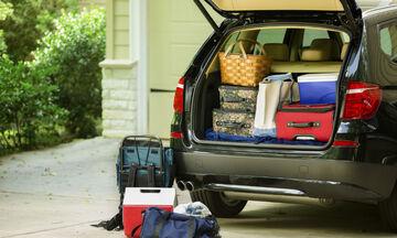 Πώς φορτώνουμε σωστά το αυτοκίνητο πριν το ταξίδι (vid)