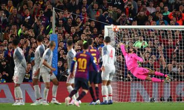 Champions League: Κορυφαίο γκολ το φάουλ του Μέσι κόντρα στη Λίβερπουλ (vid)