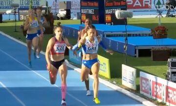 Ευρωπαϊκό Πρωτάθλημα Στίβου: Στη δεύτερη θέση η Ελλάδα στα 4Χ400μ. γυναικών (vid)