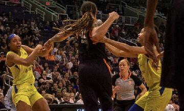 Άγριο ξύλο σε αγώνα του γυναικείου NBA